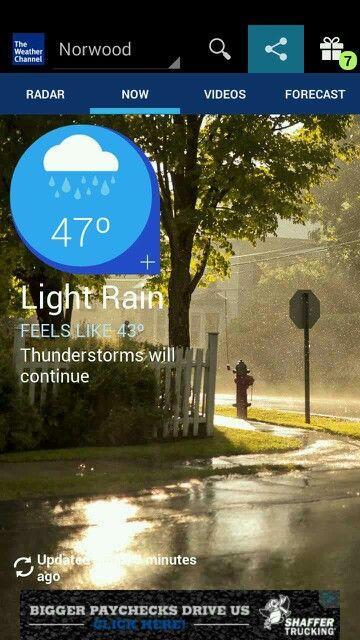 Nice rainy picture
