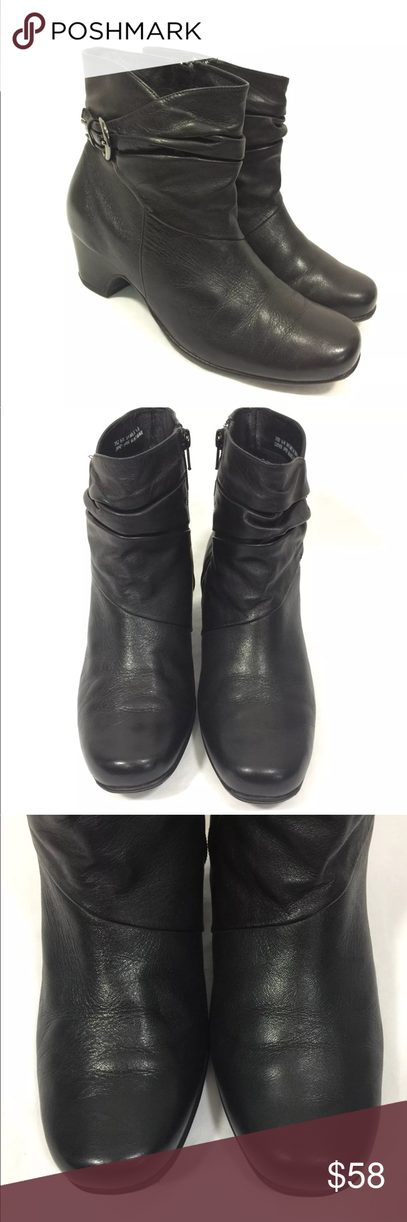 Clarks W Artisan 6 Ankle Boots Black Active Wear rrqU1Z