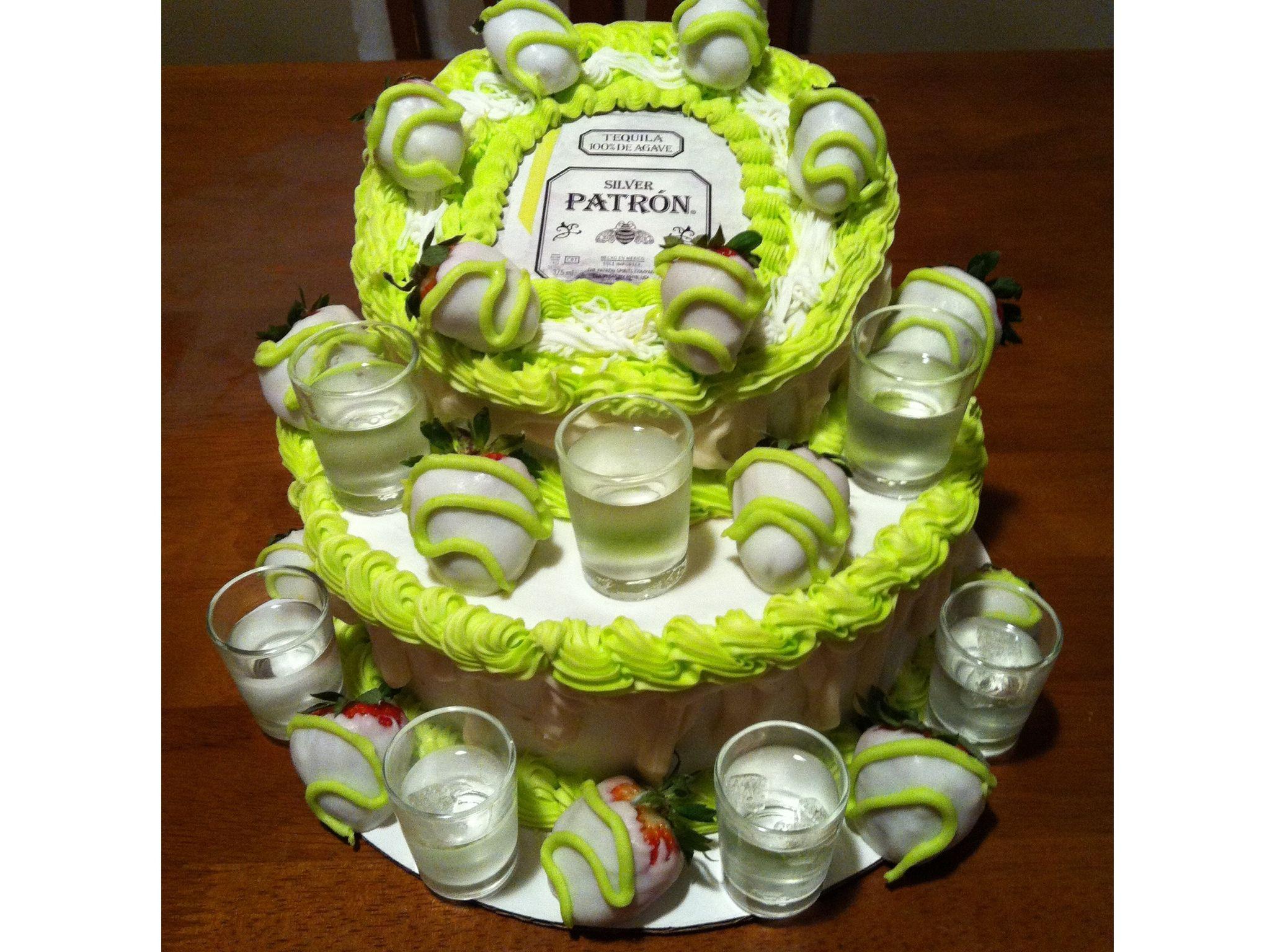 Patron Cake Gordos Th Birthday Bash Plans Pinterest Cake - Patron birthday cake
