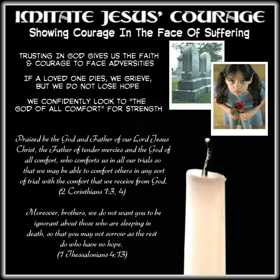 Imitate Jesus Courage Showing Courage In The Face Of Suffering
