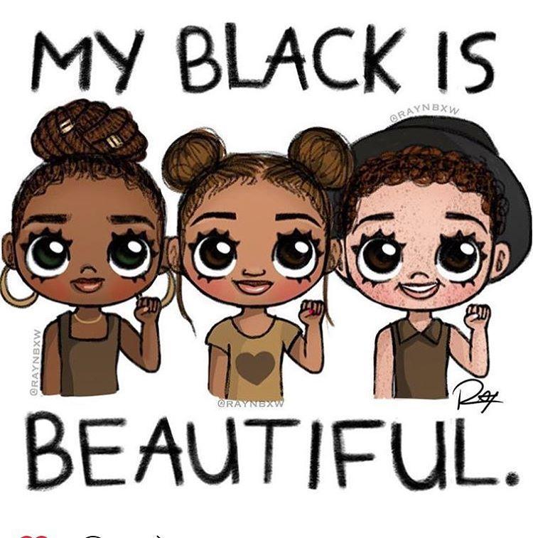 Zunder für schwarze Mädchen