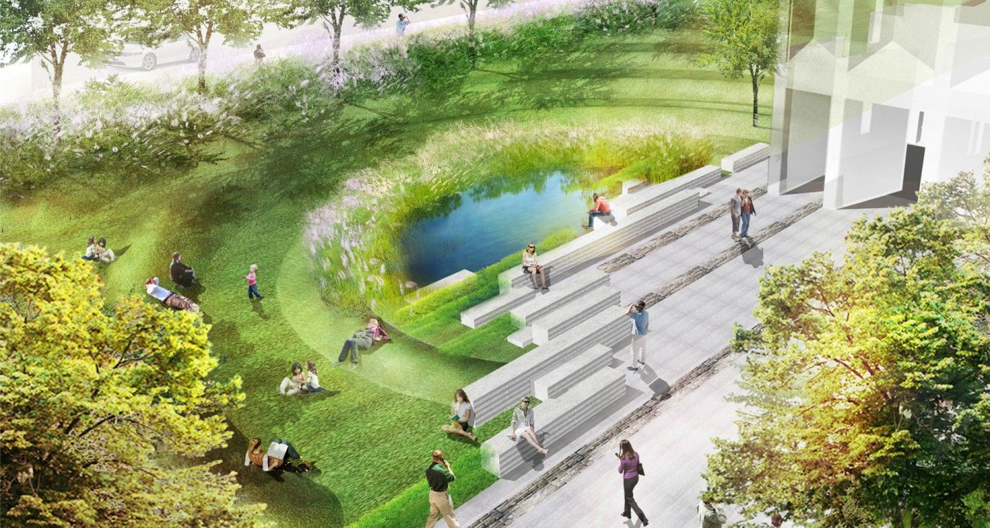 Mikyoung kim design university of chicago lab for Landscape design chicago
