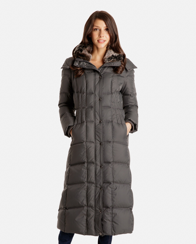 Liana Full Length Down Coat for Women | London Fog | Women's ...