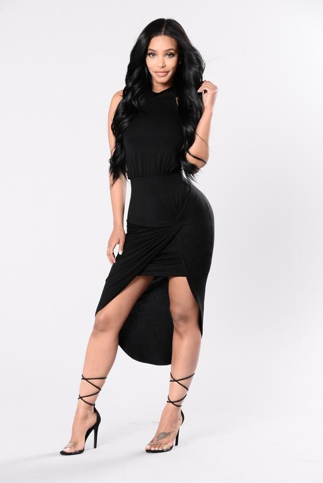 ef80b18006 Right Back At You Dress - Black Jumpsuit Dress