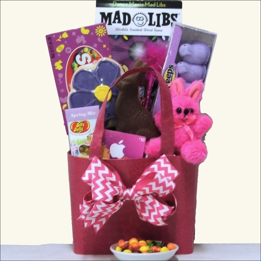 Easter diva easter gift basket for tween girl ages 10 13 years old negle