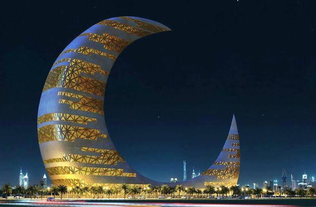Crescent moon tower дубай фото недвижимость в венеции купить