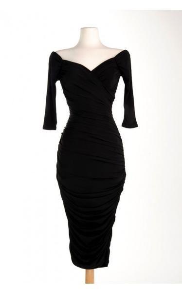 4b8ad3f4d8 European Retro 50s 60s Vintage Rockabilly Dress Audrey Hepburn Dress ...
