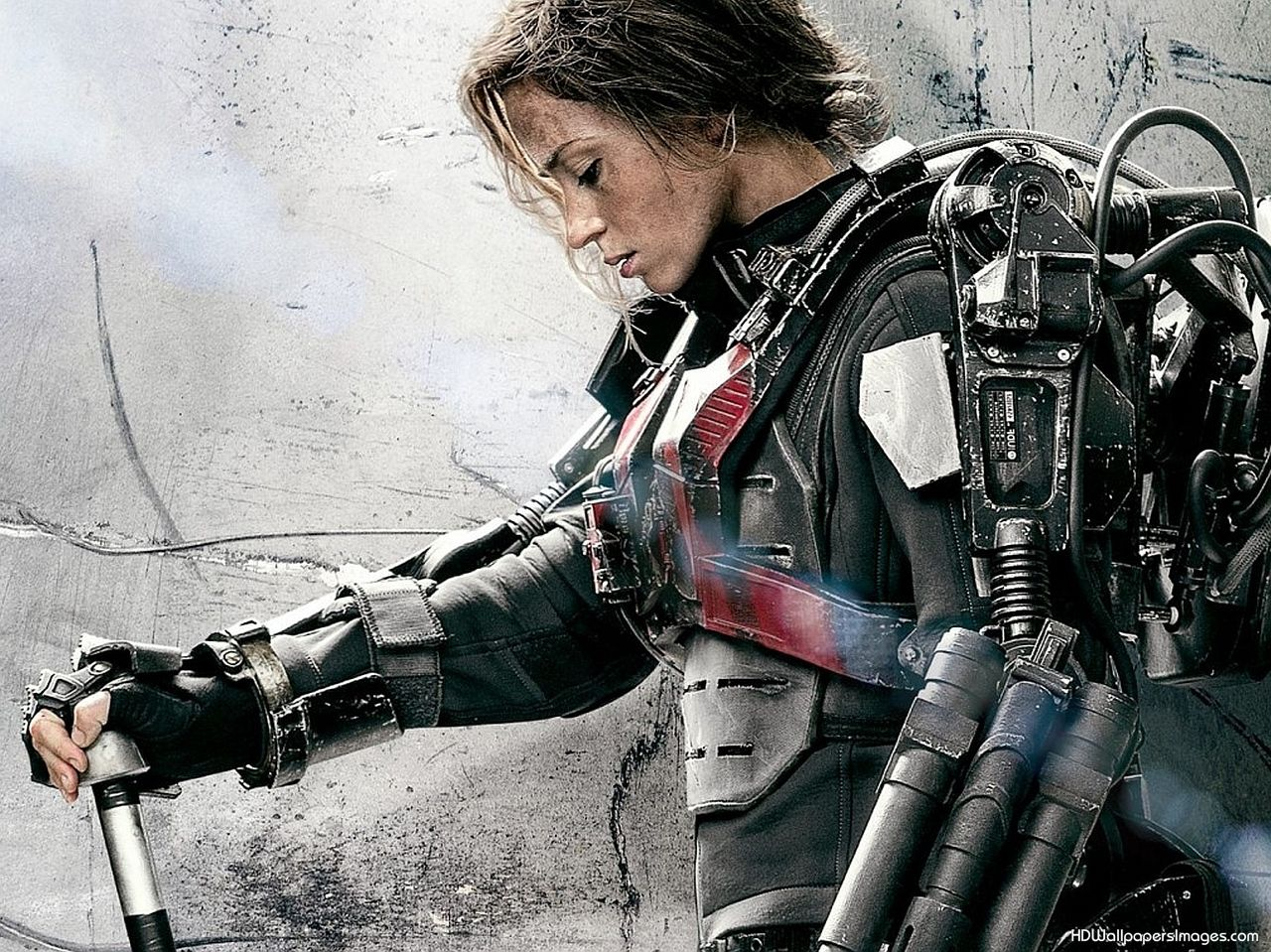 Emily Blunt Edge Of Tomorrow Post Hd Wallpaper Background Images