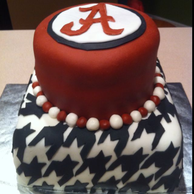 Roll Tide cake Recipes Pinterest Roll tide and Cake
