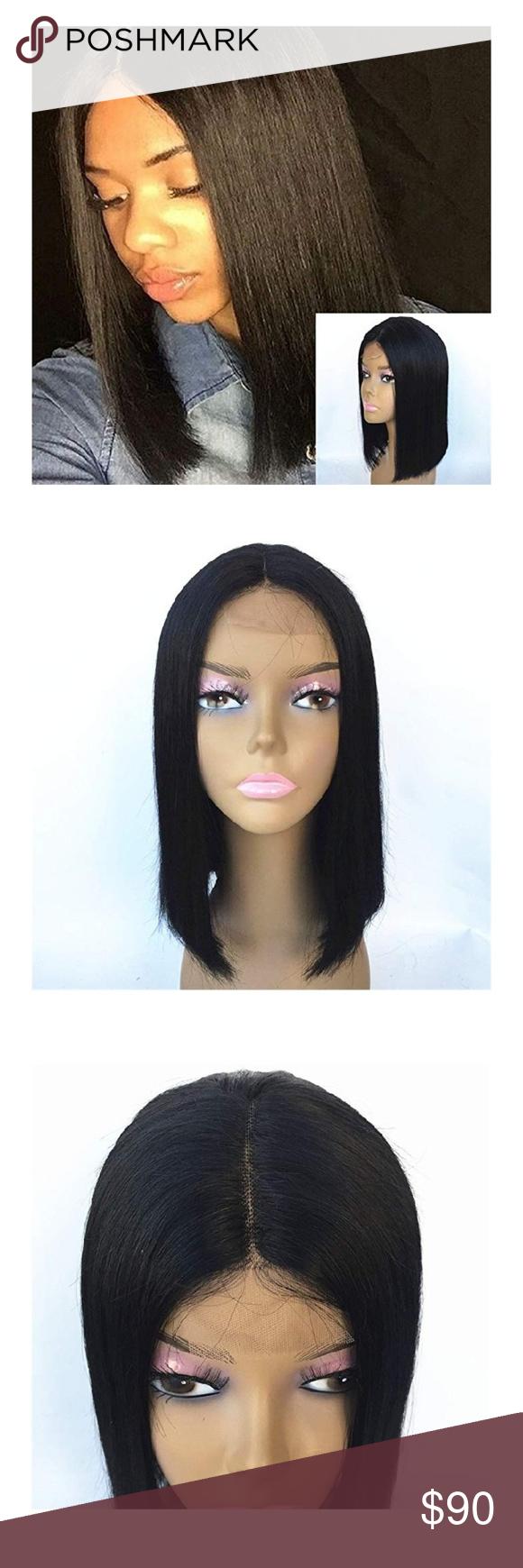 fcb73d0e2 JYL Brazilian Virgin Straight Shoulder Length Wig JYL Hair Brazilian Virgin Straight  Shoulder Length Short Bob