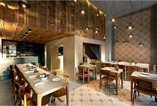 Architecturelover Pizzeria Capanna Vintage Restaurant Design
