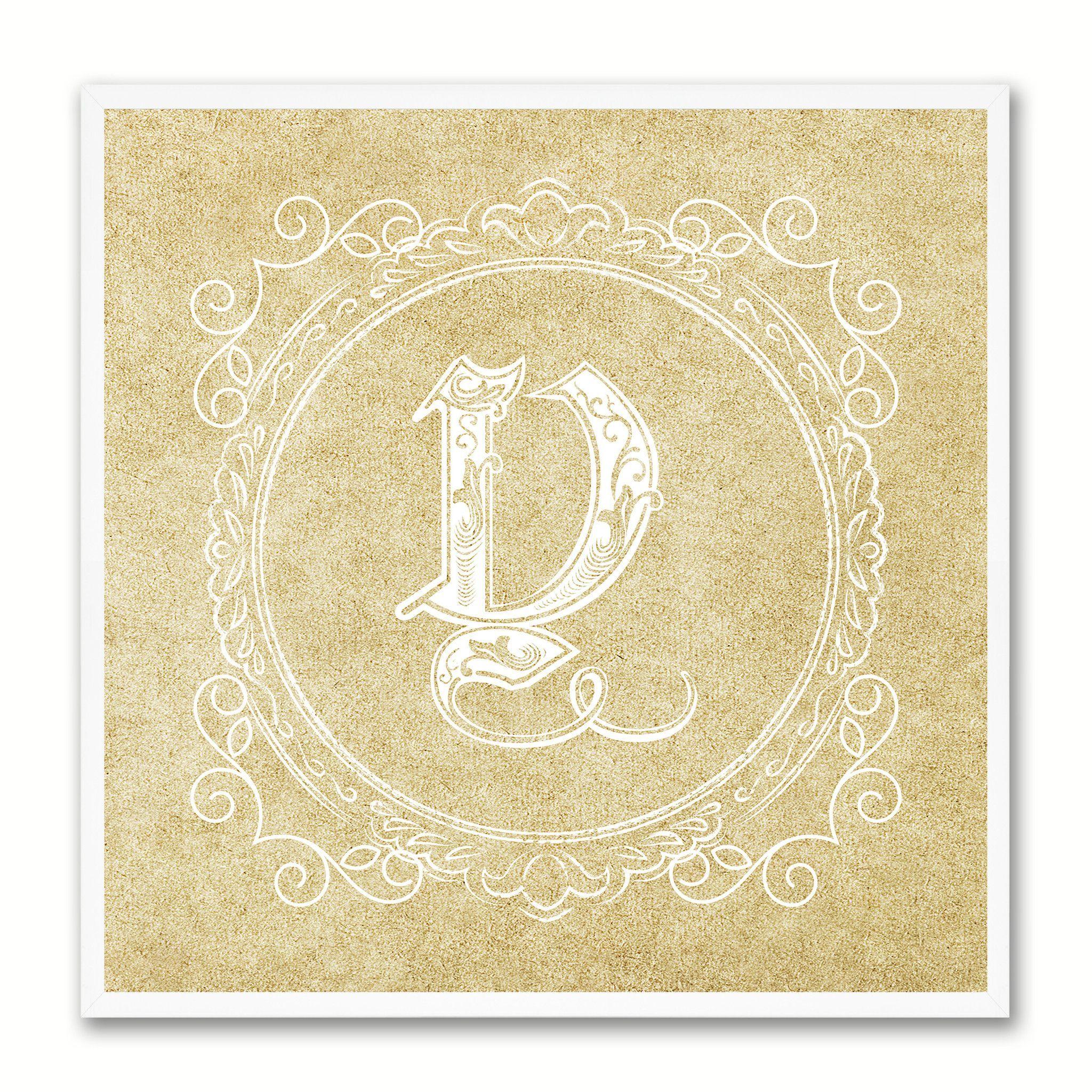 Alphabet Letter Y Brown Canvas Print Black Frame Kids Bedroom Wall ...