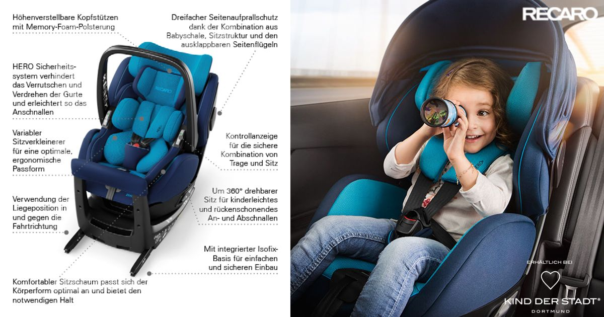 Kindersitz Recaro Zero Der Recaro Child Safety Zero 1 I Size Kindersitz Ist Im