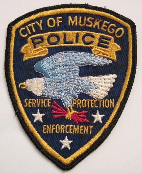 Muskego Pd Wi Police Patches Police Patches