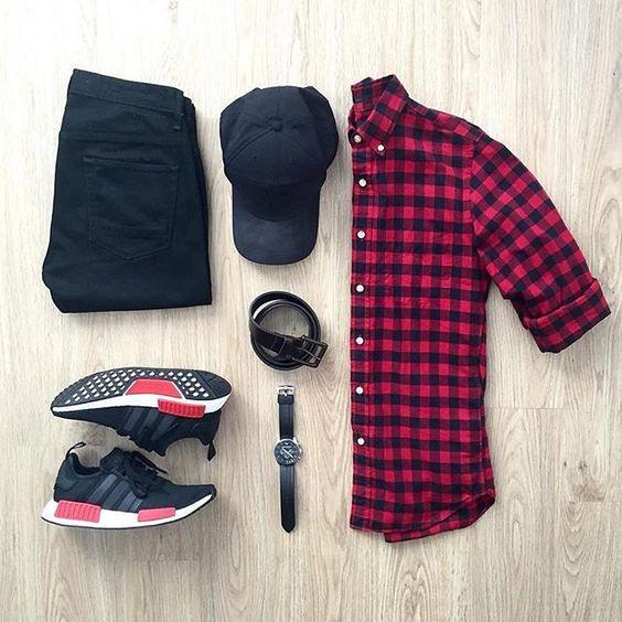 Macho Moda - Blog de Moda Masculina  Looks Masculinos com Adidas NMD 0622a5c76389e
