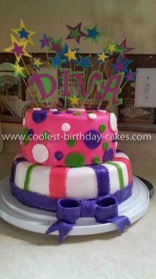 Coolest Little Diva Birthday Cake Diva birthday cakes Diva and
