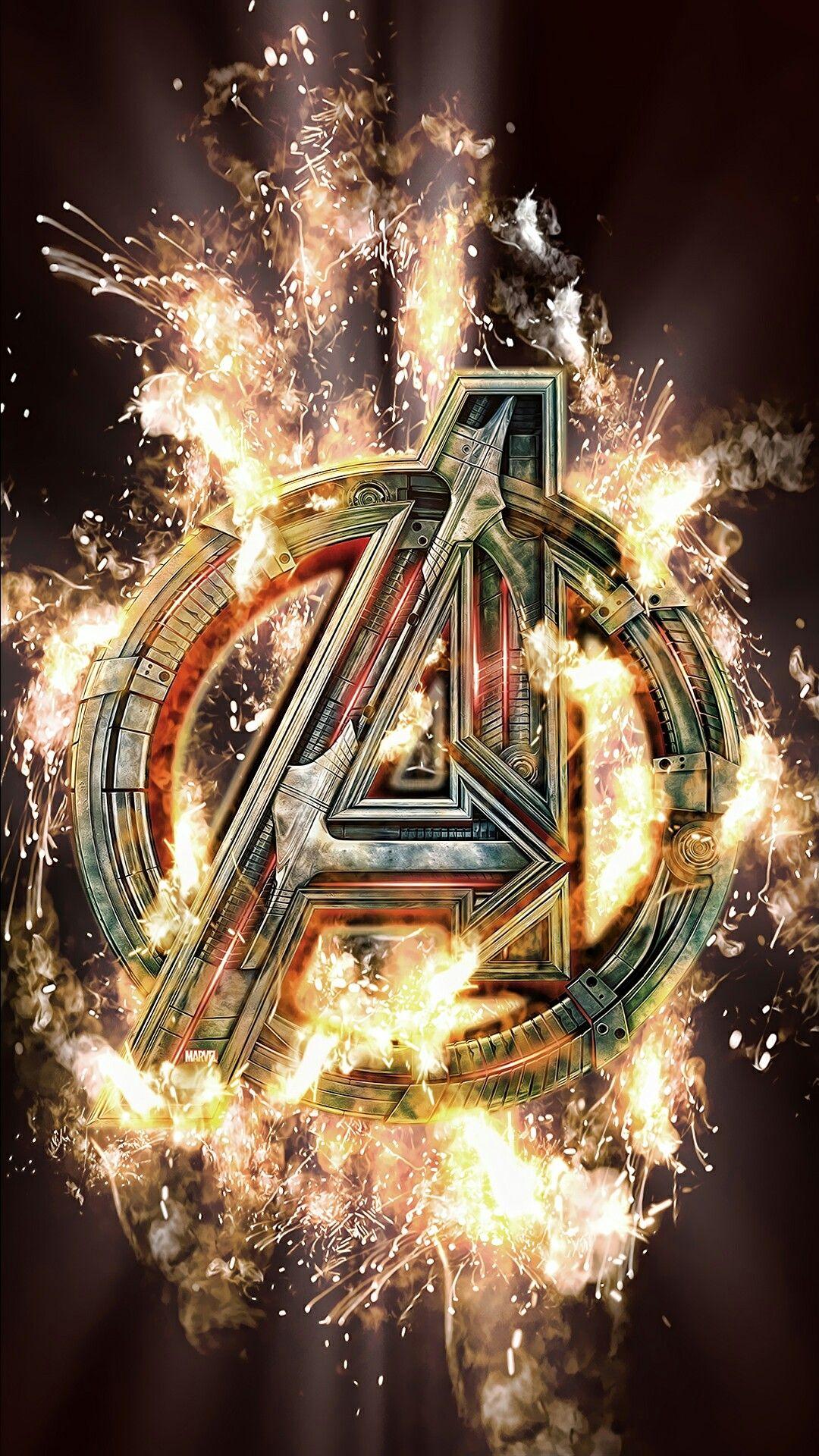Avengers Wallpaper Heroes & Villains (RANDOM