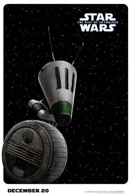 Art Poster 136 Star Wars IX Rise of the Skywalker 2019 Movie