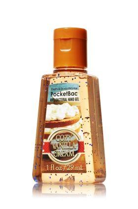 Cozy Vanilla Cream Pocketbac Sanitizing Hand Gel Soap Sanitizer