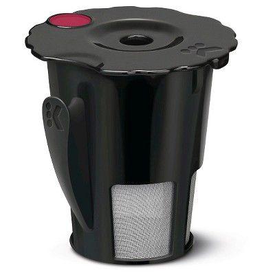 keurig 2.0 my k-cup reusable coffee filter, black   pinterest ...