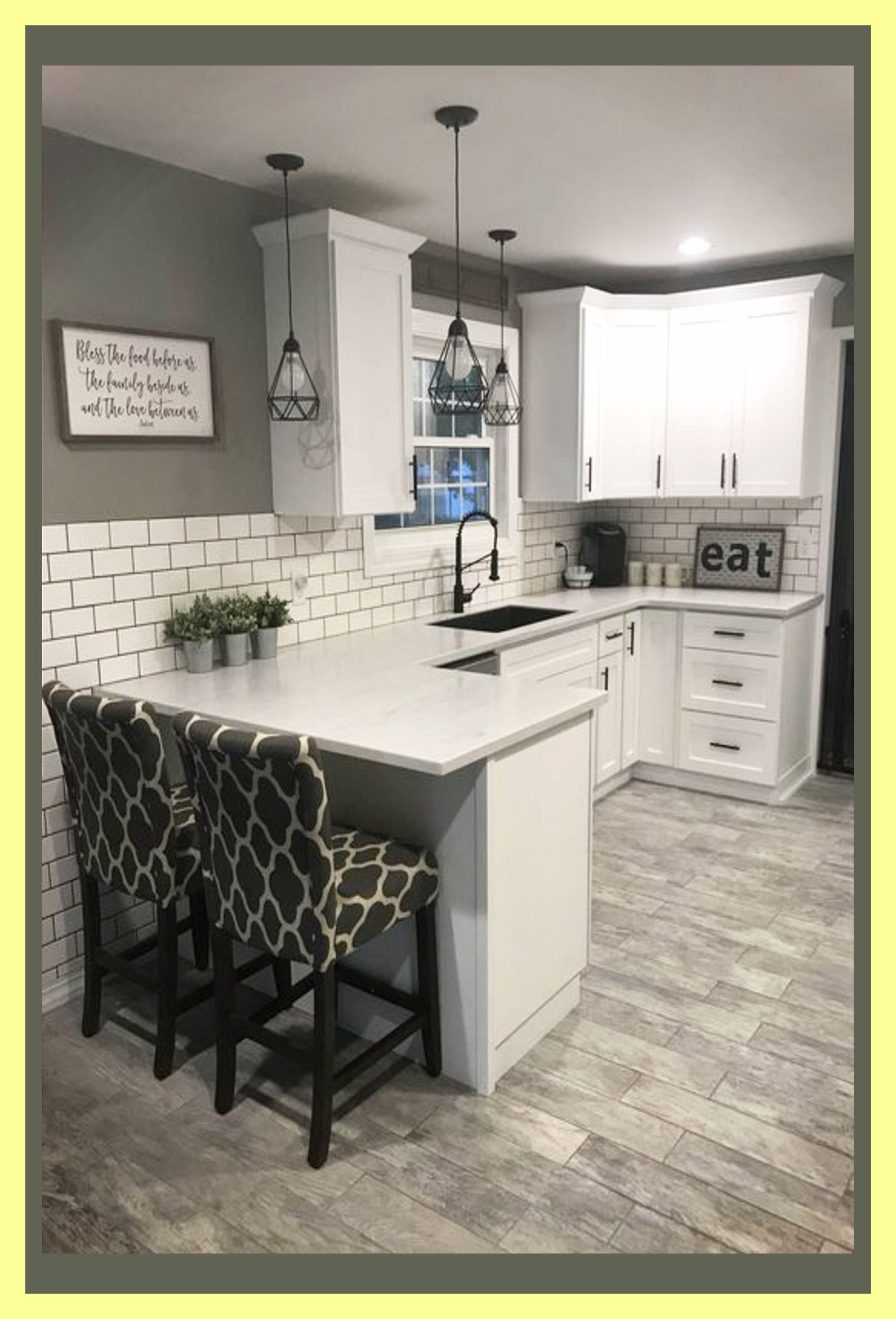 Farmhouse Kitchen Ideas For A Country Kitchen Remodel On A Budget Kitchenremodel In 2020 Kitchen Remodel Small Kitchen Design Countertops Kitchen Style