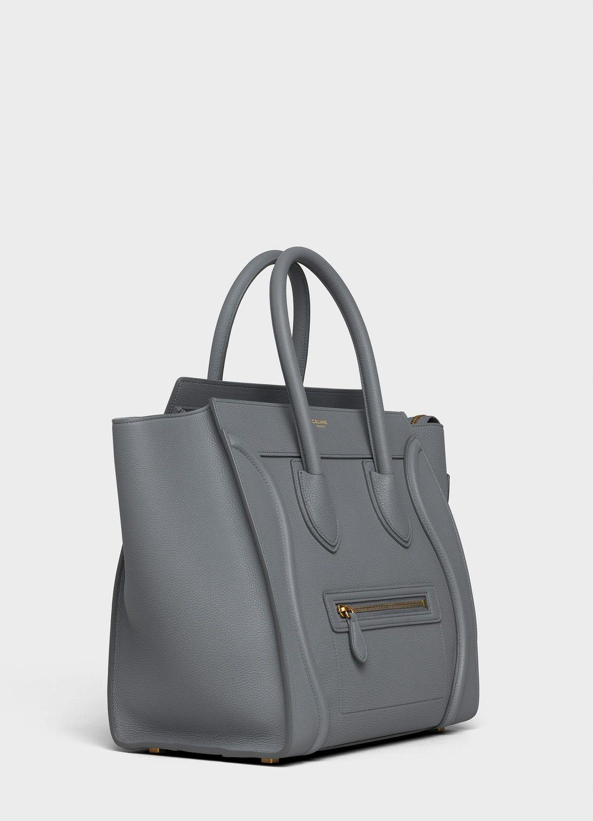 3d2c286534f Mini Luggage handbag in baby drummed calfskin