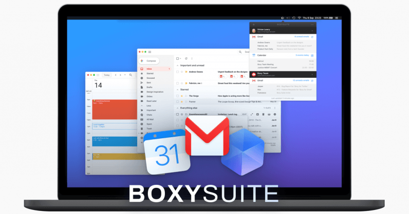 Boxy's macOS app is like Gmail, but sexier App, Mac