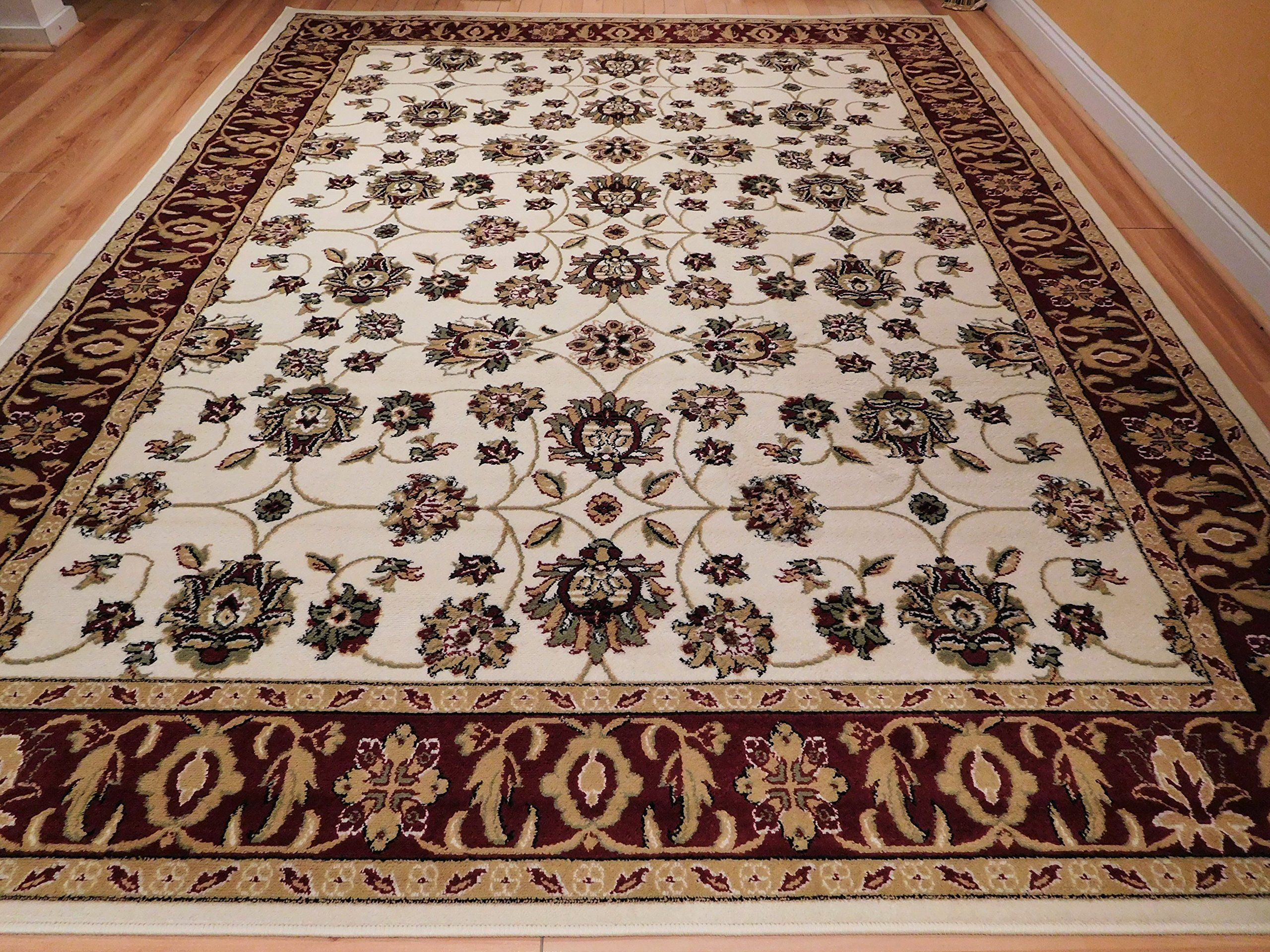 New Large Rugs Cream Area Rug Living Room 8x10 Clearance Under 100