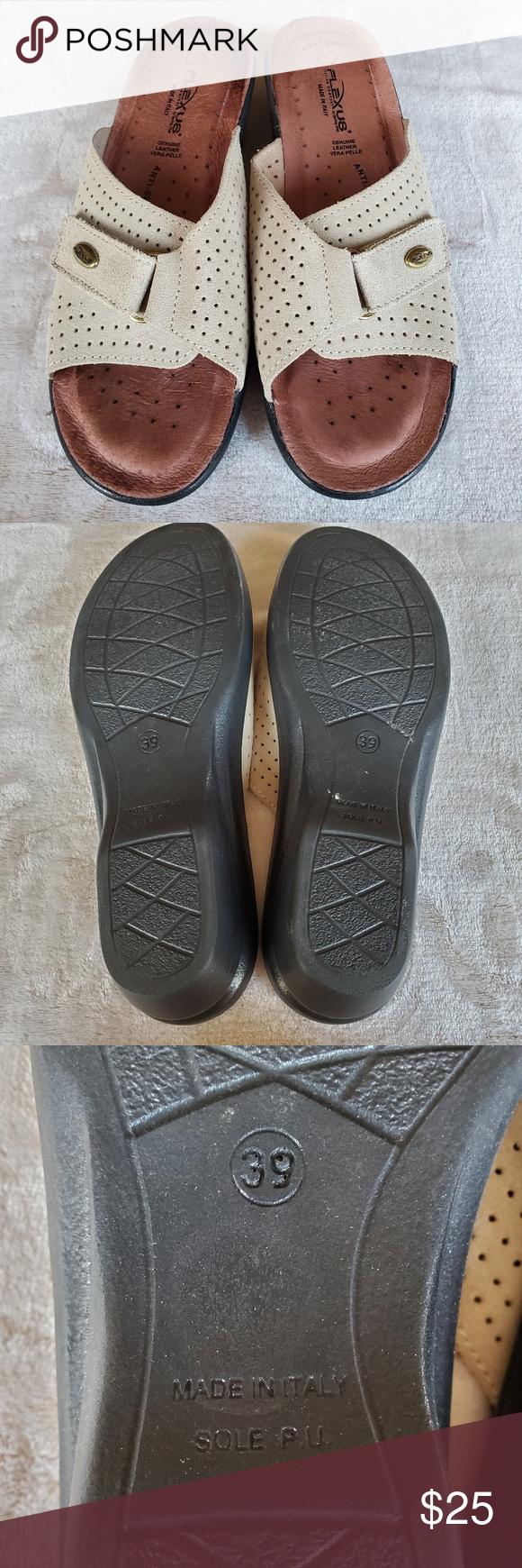 Italian Comfort Sandal Flexus Spring