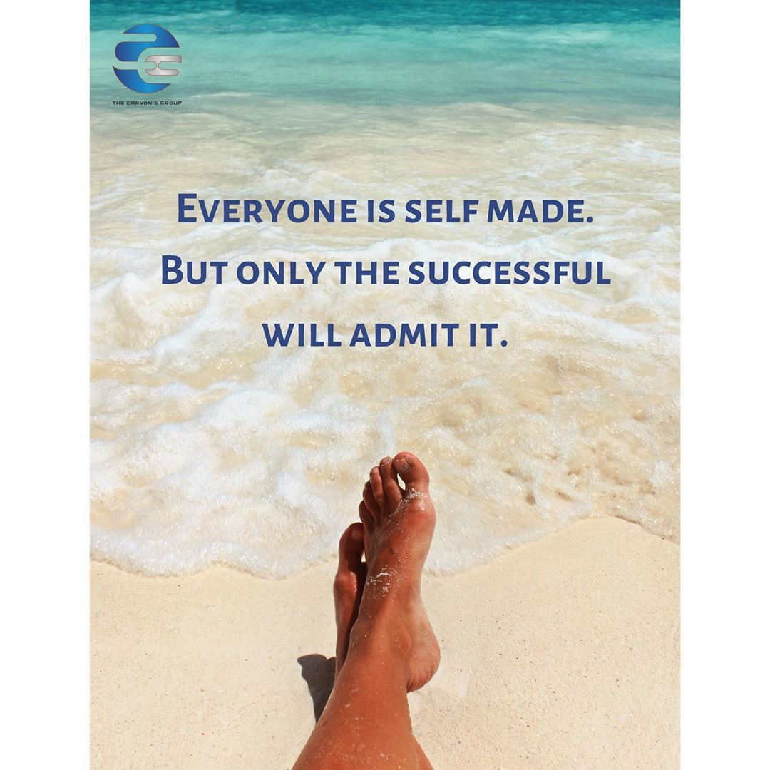 Were all self made. thecarvonisgroup Finding peace