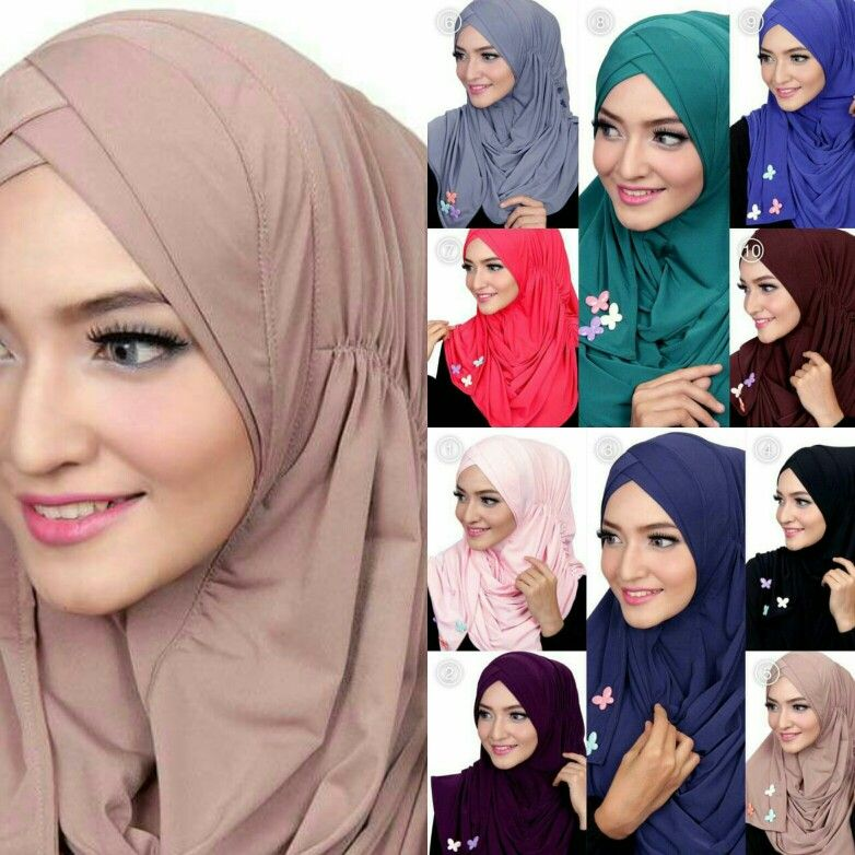 Maira Slip In Instant Shawl Material Jersey Easy And Comfy To Wear Suitable For Daily Casual Wear Pls Wa 65 8 Instant Hijab Stylish Hijab Turban Hijab