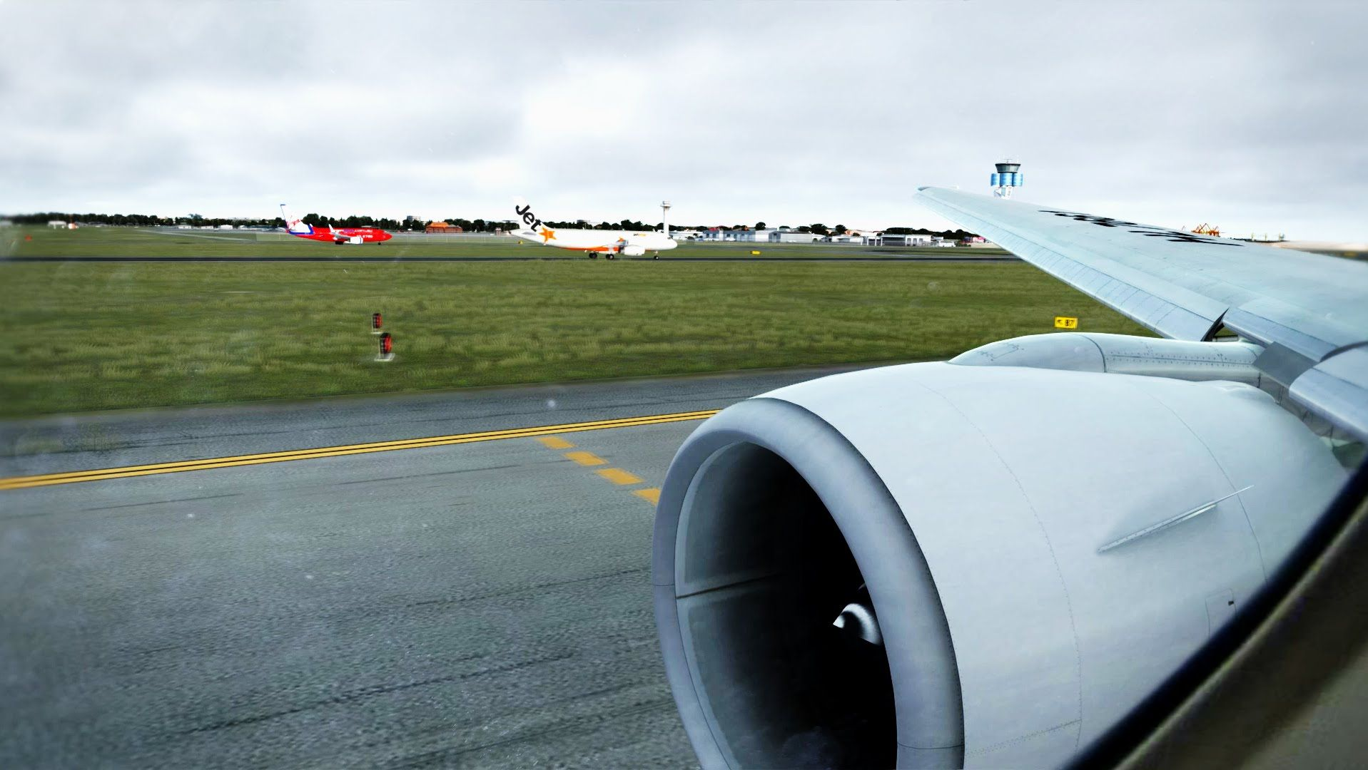 Prepar3D P3D 2016 - 777 landing Sydney [Ultimate Realism