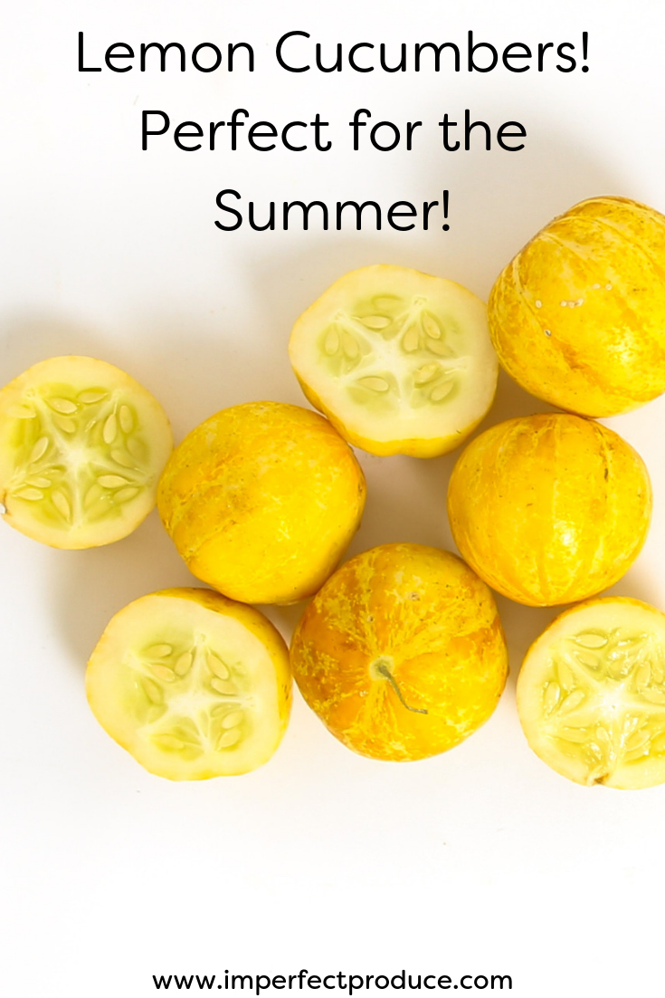 Have you ever had a lemon cucumber? Organic recipes