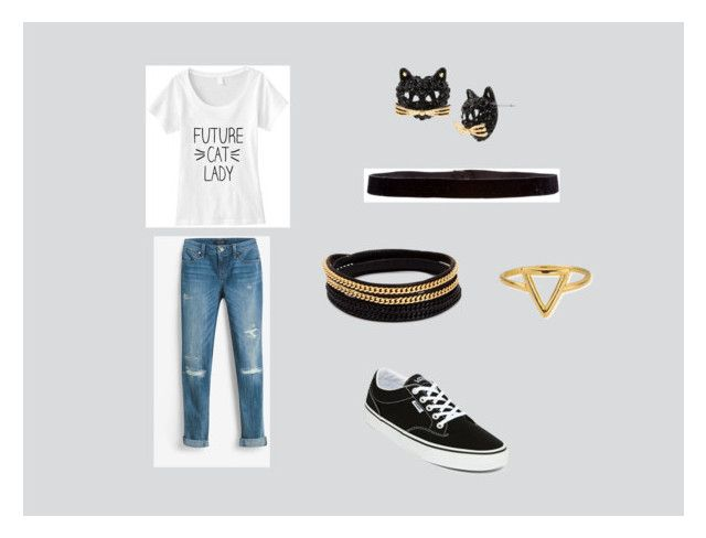 """Style7"" by lux-puppy on Polyvore featuring moda, White House Black Market, Vans, Betsey Johnson, Steve Madden, Vita Fede y ChloBo"