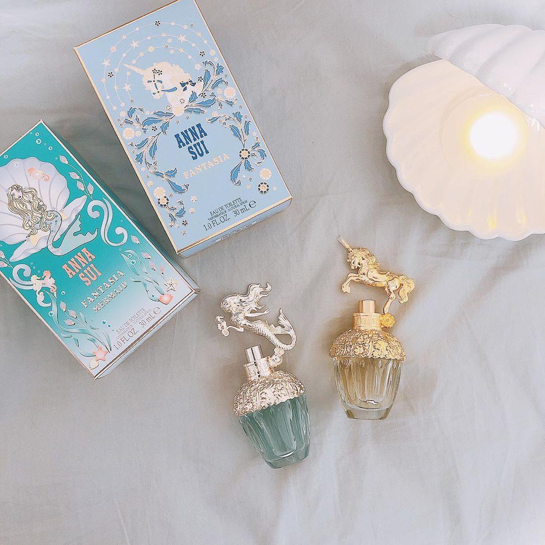 マーメイドの世界へ誘う魅惑的な香り Anna Suiから ファンタジア マーメイド 新発売 Mery メリー 化粧品のデザイン 香水コレクション 香水 人気