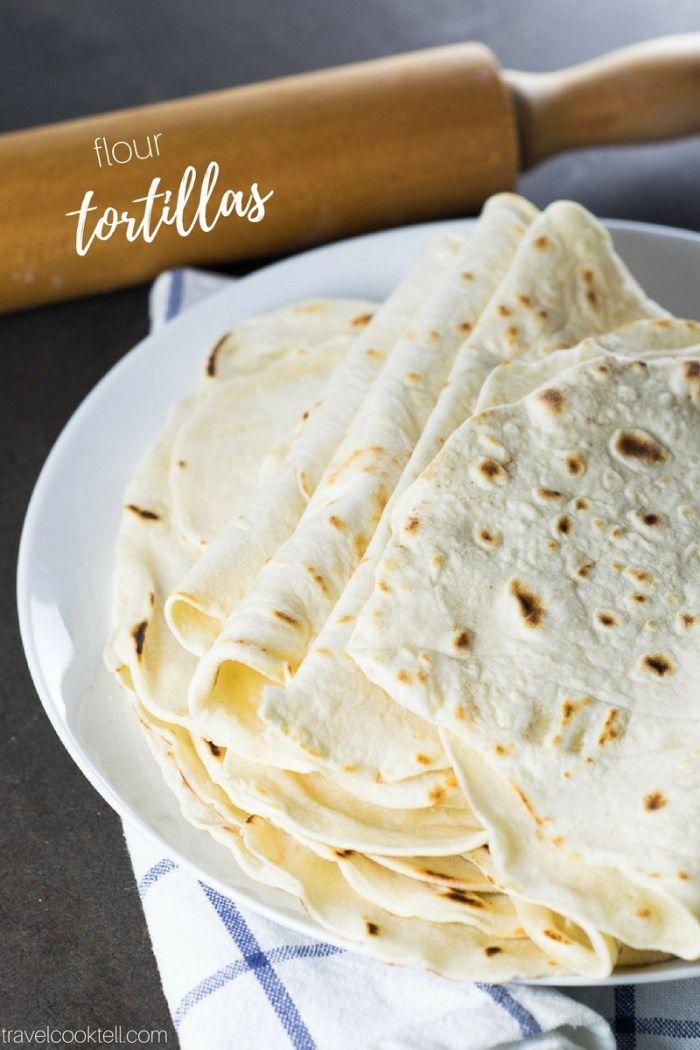 Homemade Flour Tortillas | Rezept