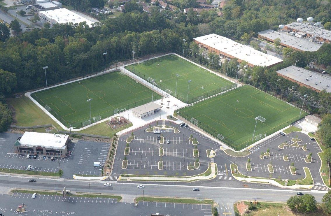 Franklin Gateway Sports Complex in Marietta, GA hosts