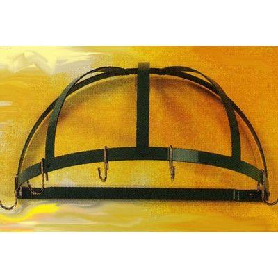 Gourmet Half Dome Wall Mounted Pot Rack | Pot hanger, Wall mount and ...