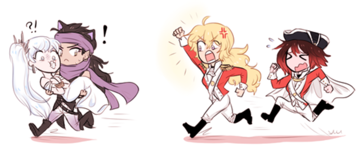 Stop Criminal Scum You Have Violated The Law Rwby Rwby Rwby Characters Rwby Fanart