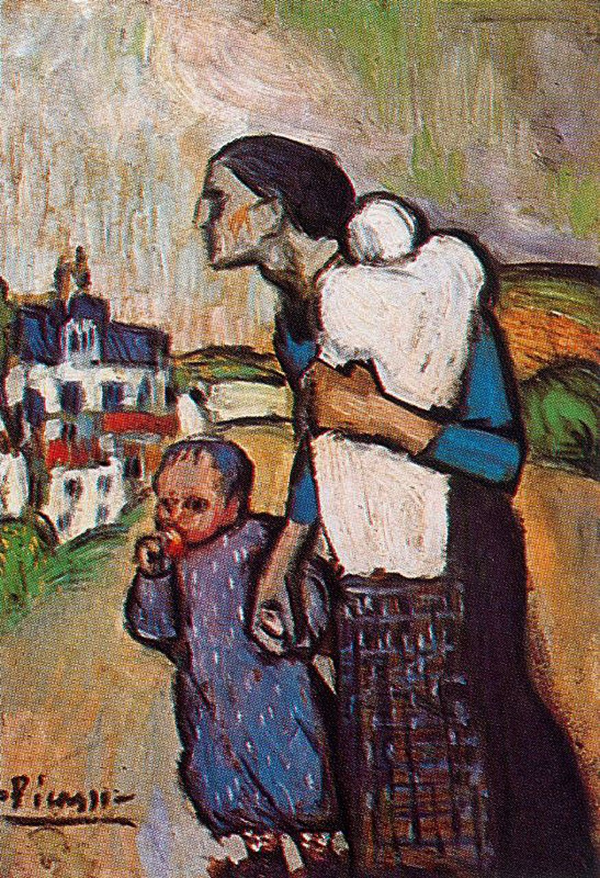 Pablo Picasso Women And Children Pablo Picasso Paintings Pablo Picasso Art