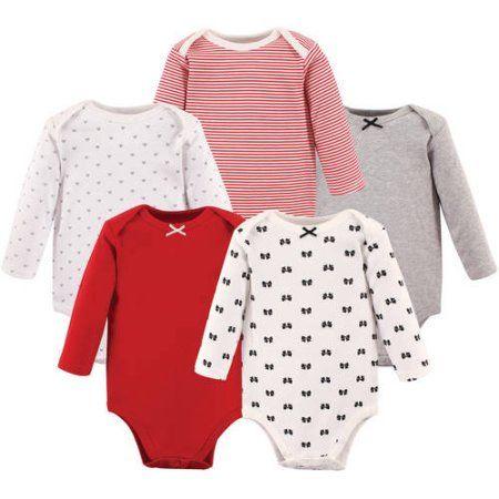 c2fbaf2d6 Hudson Baby Girl Long Sleeve Bodysuit