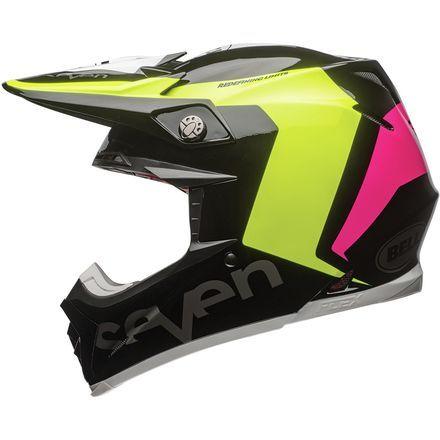 Seven Bell Moto 9 Carbon Flex Helmet Rogue Bell Moto Helmet Custom Motorcycle Helmet