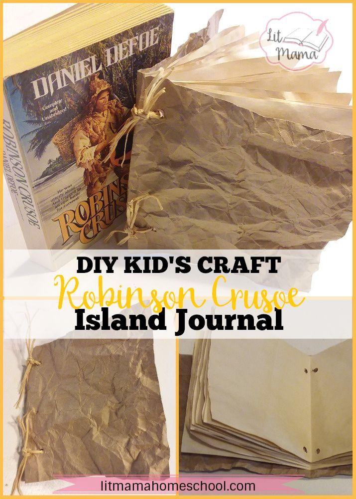 12 Months of Literary Activities Robinson Crusoe