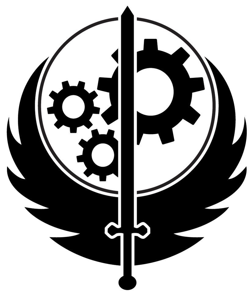 Brotherhood Of Steel Logo by inkedicon on DeviantArt