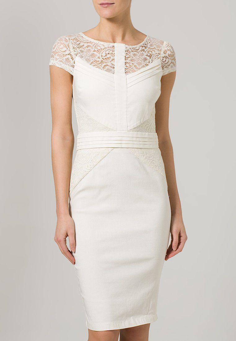 Paper Dolls - Cocktailkleid / festliches Kleid - cream vestido dress ...