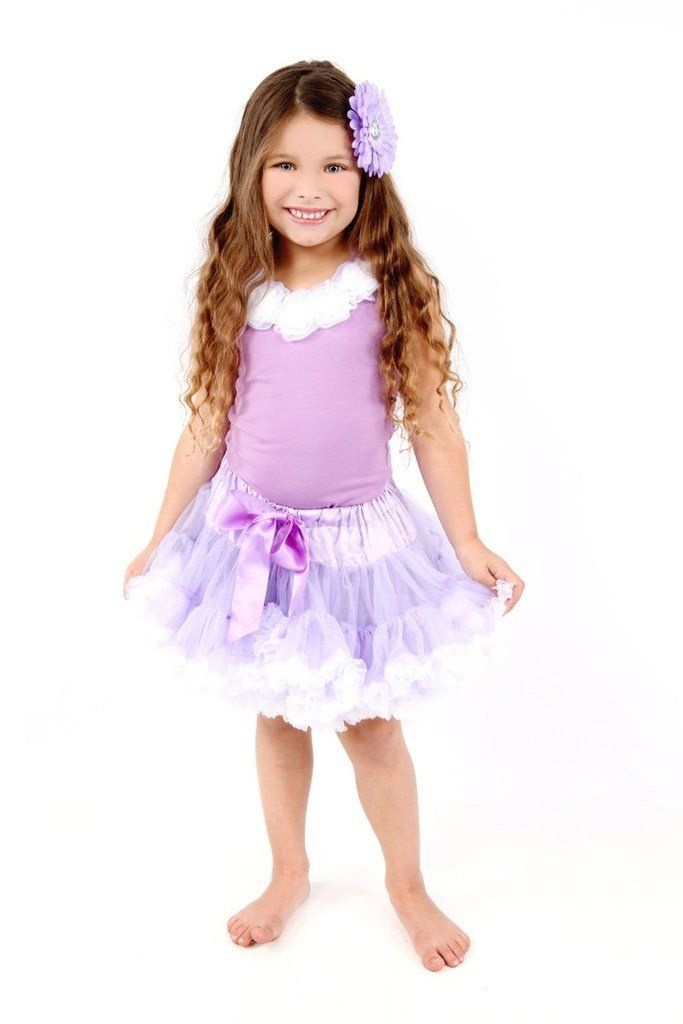 Petitebella Double Hearts White Shirt Stripe Hot Pink Petal Skirt Outfit Nb-8y
