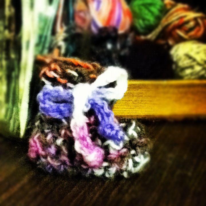 Crocheted Baby Bootie Pattern Free On Michaels App Crochet