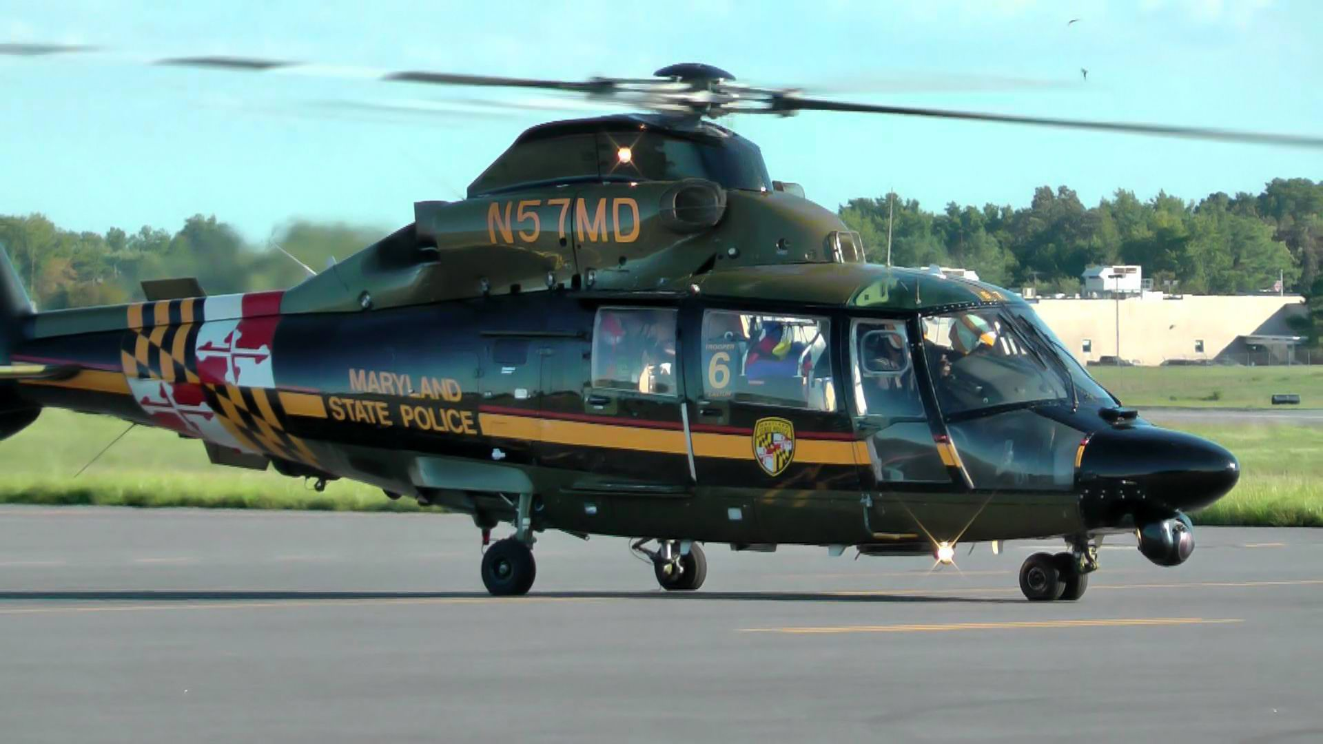 Hh 65 Eurocopter Of Maryland State Police Flight Paramedic State Police State Trooper