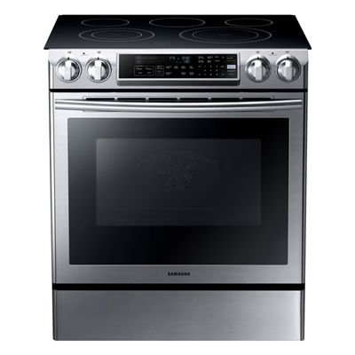 Samsung NEFSSAC In Smooth Surface Element Cu Ft - Cuisinieres electriques pour idees de deco de cuisine