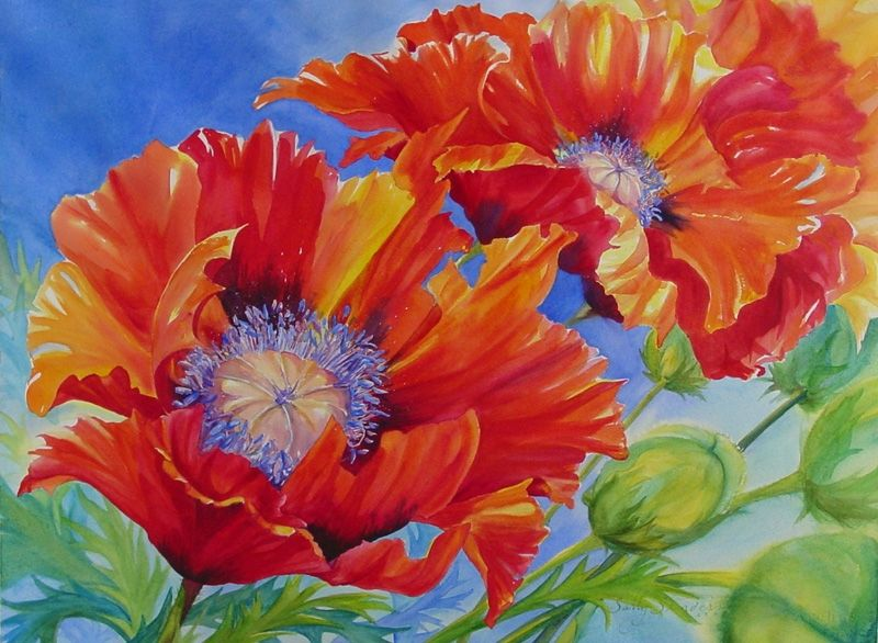 Original Paintings | Landscapes, Floral, Oil and Watercolor